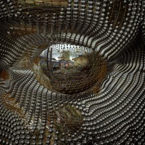 Выставка «3D зеркала Константина Худякова»  в Галерее  Елены Громовой