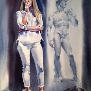 «Неономады и автохтоны». Выставка произведений Андрея Есионова во Флоренции.