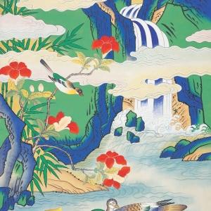 «Живопись минхва. Утопия корейского народа» Выставка произведений Со Гон Им (Республика Корея) в МВК РАХ.