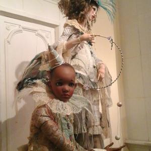 «Объект игры».  XIV ежегодная выставка художественных кукол «DOLLART. RU-2017»